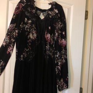 Love sick size 0X black dress